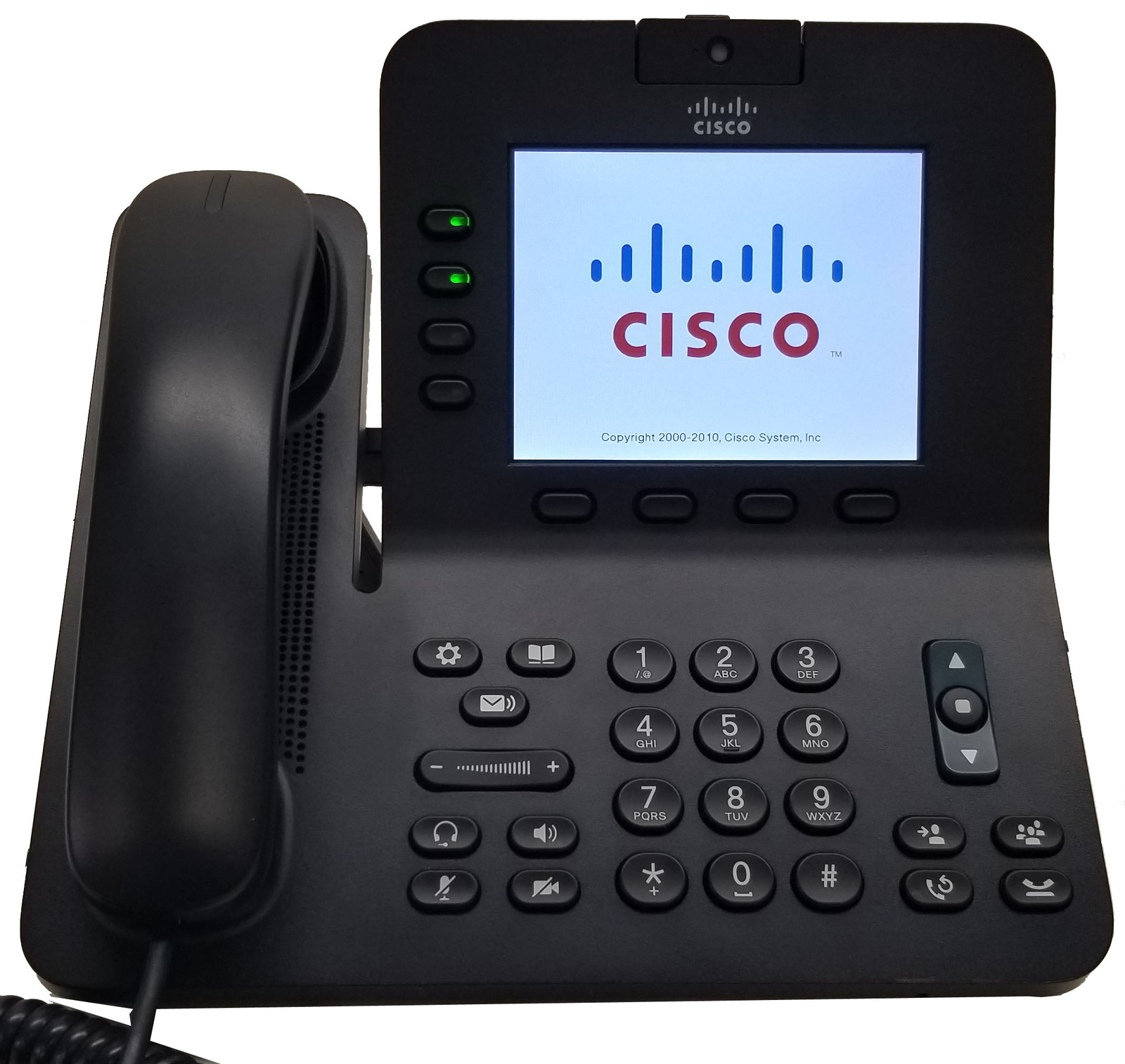Cisco 4-Line Landline Office VOIP IP Telephone - PoE - CP-8945 Bin: 2