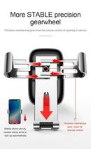 """Car Mobile Holder 4-6.0"""" Air Vent Mount Metal Gravity Universal Smartphone Stand image 10"""