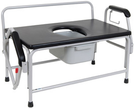 Drive Extra-Large Bariatric Drop Arm Commode - $519.95