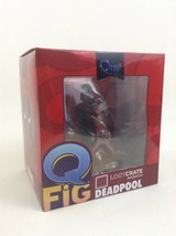Deadpool QMX Collectible QFig Marvel Collectible Figure Loot Crate Exclu... - $24.90