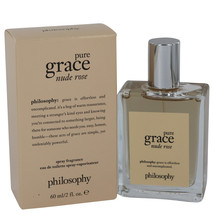 Amazing Grace Nude Rose By Philosophy For Women 2 oz EDT Spray - $40.69