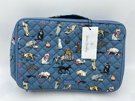 NWT Vera Bradley Cats Meow Iconic Large Blush & Brush Makeup Case - $199.99