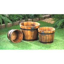 Apple Barrel Planter Trio - $65.80