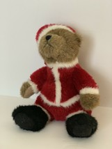 "Boyds Bear Plush Santa 2005 Bean Stuffed Animal 7"" Tall - $6.53"