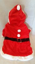 Christmas Santa Claus Pet Dog Costume Unisex Size Small 6 - 10lbs Claire... - €8,62 EUR