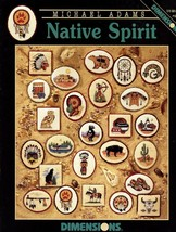 Native Spirit American Indian Dimensions #279 Cross Stitch PATTERN Booklet NEW - $7.17