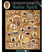 Native Spirit American Indian Dimensions #279 Cross Stitch PATTERN Bookl... - $5.74