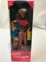 *Barbie Coca Cola Picnic Doll w/Coke Accessories SE Vintage 1997 19626 S... - $18.70