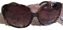 Calvin Klein R597S Women's Sunglasses Brown 100% Uv Proction Square New Wi Tag - $64.75
