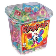 Ring Pop Assorted Jar 44 count NEW - $21.44