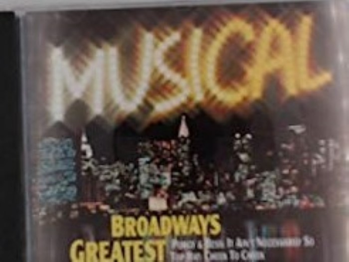 Musical Broadways Greatest Cd