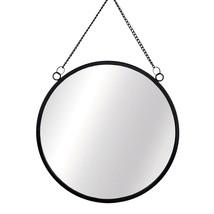 Chic, Modern Monochrome Black Hanging Mirror - $28.00