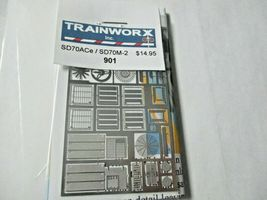 Trainworx Stock # 901 SD70ACe / SD70M-2 Detail Kit  N-Scale image 4