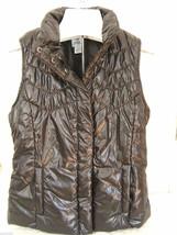 NWT IZOD Designer Black Cozy Puffer Vest Warm Versatile Sleeveless Jacke... - $56.00