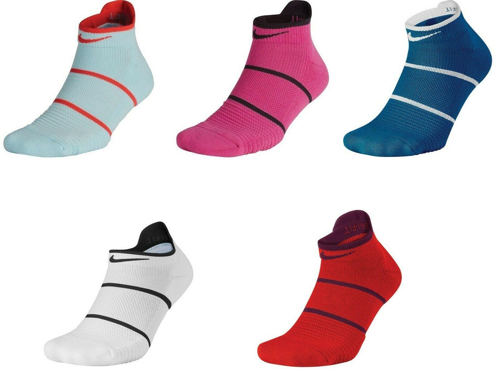 New Nike Court Essential No Show Tennis DriFit Socks L SX6914 Rafa Federer L/R *