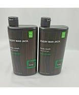 2X Every Man Jack Body Wash and Shower Gel Eucalyptus Mint 16.9oz each - $32.95