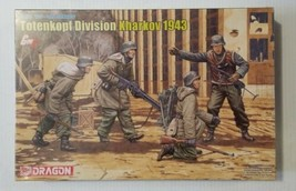 Dragon 1/35 6385 WWII German Totenkopf Division Kharkov 1943 4 Figures S... - $29.58