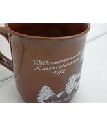 Weihnachtsmarkt Kaiserslautern cup/mug (Christmas marketplace) - 1992 - EUC - $7.87