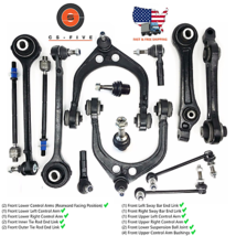 18 Pcs Complete Front Suspension Kit for CHRYSLER 300 2005  -2010 RWD Mo... - $219.90