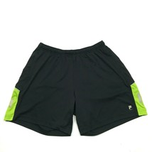 FILA Men's Running Shorts Black Size 2X XXL Adult Loose Fit Modern 3M Re... - $21.63