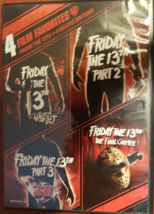 Friday the 13th 1-4 (4-Movie Collection)