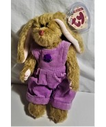 """Ty Collectable 1993 """"Iris"""" Plush Jointed Bunny - $8.00"""