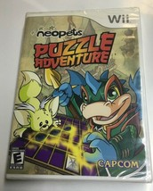 NEOPETS PUZZLE ADVENTURE WII FACTORY SEALED PACKAGE - $6.93