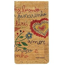 100% Natural Portuguese Eyeglasses Pouch Made In Portugal (Hearts) - $22.95