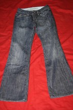 Joe's Cos Straight Leg Designer Distressed Dark Denim Jeans Sz 26 x 29 - $23.24