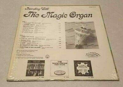 Travelling With The Magic Organ Ranwood RECORD ALBUM R-8116 Shrink Wrap NM/EX