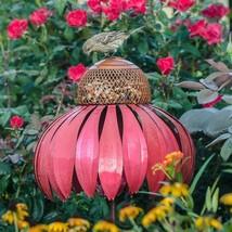 Coneflower Bird Feeder Home Outdoor Yard Decora... - $71.27