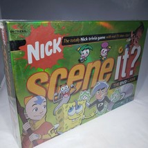 Scene It Nickelodeon Nick Trivia DVD Game 2006 NIB Sealed - $25.95
