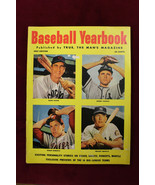 1953 Baseball Yearbook With Mickey Mantle Robin Roberts Cover Yankees Cubs - $38.61