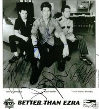 BETTER THAN EZRA SIGNED AUTOGRAPH 8X10 RP PHOTO ALL3 KEVIN GRIFFIN TOM D... - $16.99