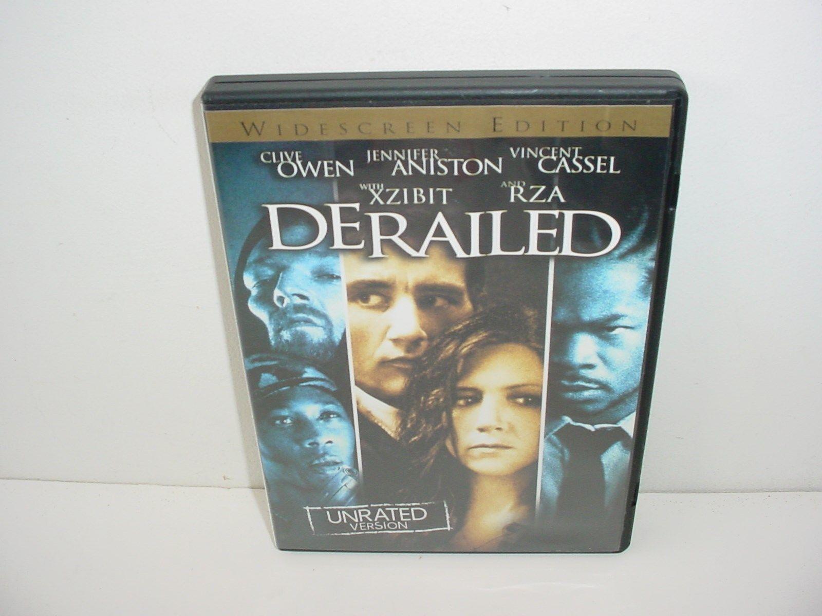 Derailed DVD Movie