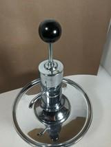 Vintage Park Sherman Chrome Glass Pump Liquor Dispenser - - 101 - $27.70