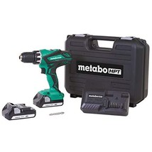Metabo HPT Cordless Driver Drill Kit, 18V, Includes 2 Lithium Ion Batteries, Car - $101.99