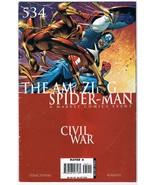 2006 The Amazing Spider-Man Civil War 534 Marvel Comic Book Part 3 Of 6 - $7.99