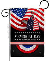 Remember Memorial Day - Impressions Decorative Garden Flag G161096-BO - £14.36 GBP
