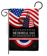 Remember Memorial Day - Impressions Decorative Garden Flag G161096-BO - £14.18 GBP