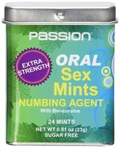 XR Brands Oral Sex Mints with Numbing Agent