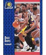 Dale Davis ~ 1991-92 Fleer #293 ~ Pacers - $0.05