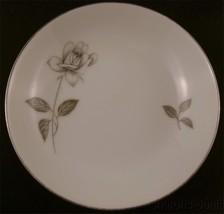 Queens Royal Fine China Rosebud Platinum Rose Fruit Bowl Small Japan Sil... - $5.49