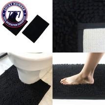Shaggy Bath Rug Set- Citmage Microfiber 16''X 24'' Shag Mat + 19.5''X 19... - $24.57