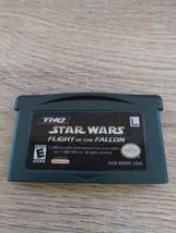 Nintendo Game Boy Advance GBA Star Wars: Flight Of The Falcon image 2