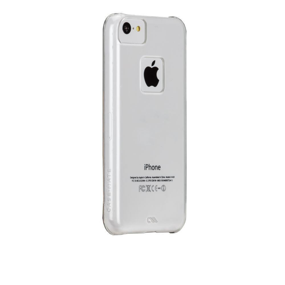 Case-Mate Apple iPhone 5C Naked Tough Case Cover Clear with Clear Bumper NEW