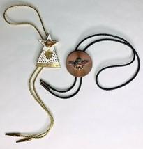 Vintage TWO 1994 1995 Enamel ZELZAH Bolo Tie Masonic Shriner Las Vegas, ... - $35.00