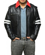 Prototype alex mercer gaming biker replica men leather jacket thumb200