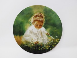 "Pemberton & Oakes ""Spring Innocence"" Collectible Plate - Wonder of Child... - $16.14"