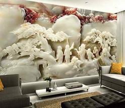 3D Weiße Jade Kunstwerk 988 Fototapeten Wandbild Fototapete BildTapete FamilieDE - $52.21+